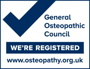 We're Registered Osteopaths